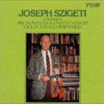 ヨーゼフ・シゲティのバッハ「無伴奏」